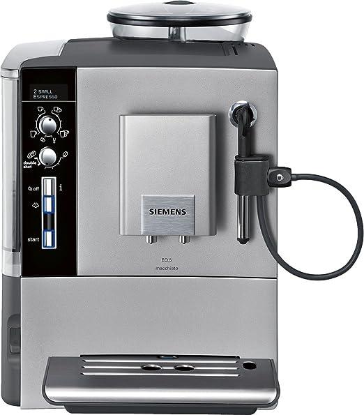 Siemens TE503N01DE EQ.5 - Cafetera automática, color titanio ...