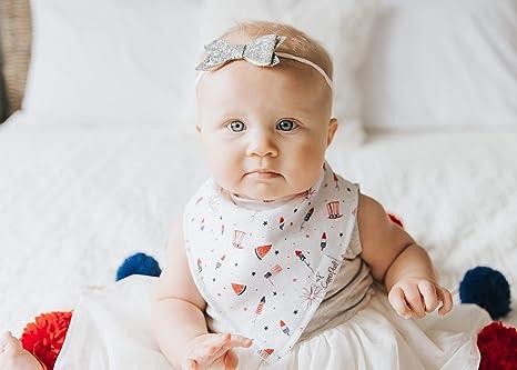 Amazon.com: Baberos bandana para baberos para babeo y ...