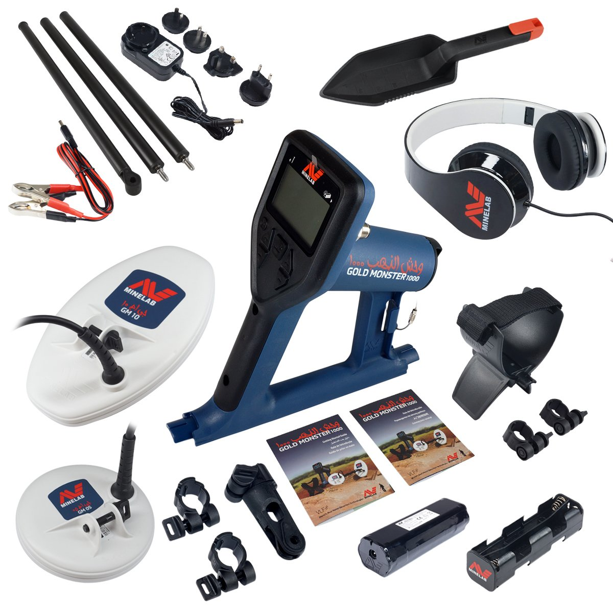 Amazon.com : Minelab Gold Monster 1000 Detector Bundle w/PRO Gold Gold Panning Kit : Garden & Outdoor