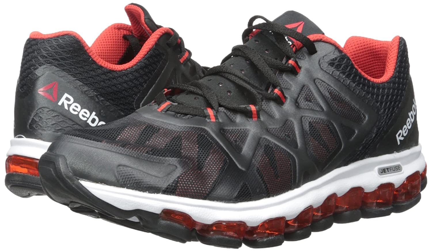 best website 16a0e 5b0fc best reebok jetfuse great condition shoes athletic shoes a1bde 640e8   coupon amazon reebok mens zjet burst running shoe black motor red white 8.5  m us road