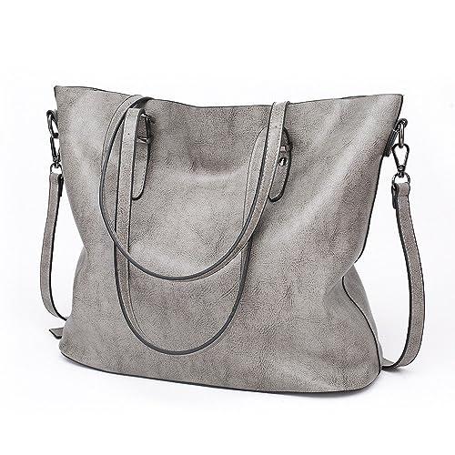21f4de8f1b HITSAN INCORPORATION Bolso Mujer Negro Fashion Hobos Women Bag Ladies Brand  Leather Handbags Spring Casual Tote