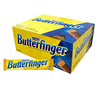 Amazon.com   Butterfinger Single, Candy Bars (Pack of 36 ... a16c9b8efb
