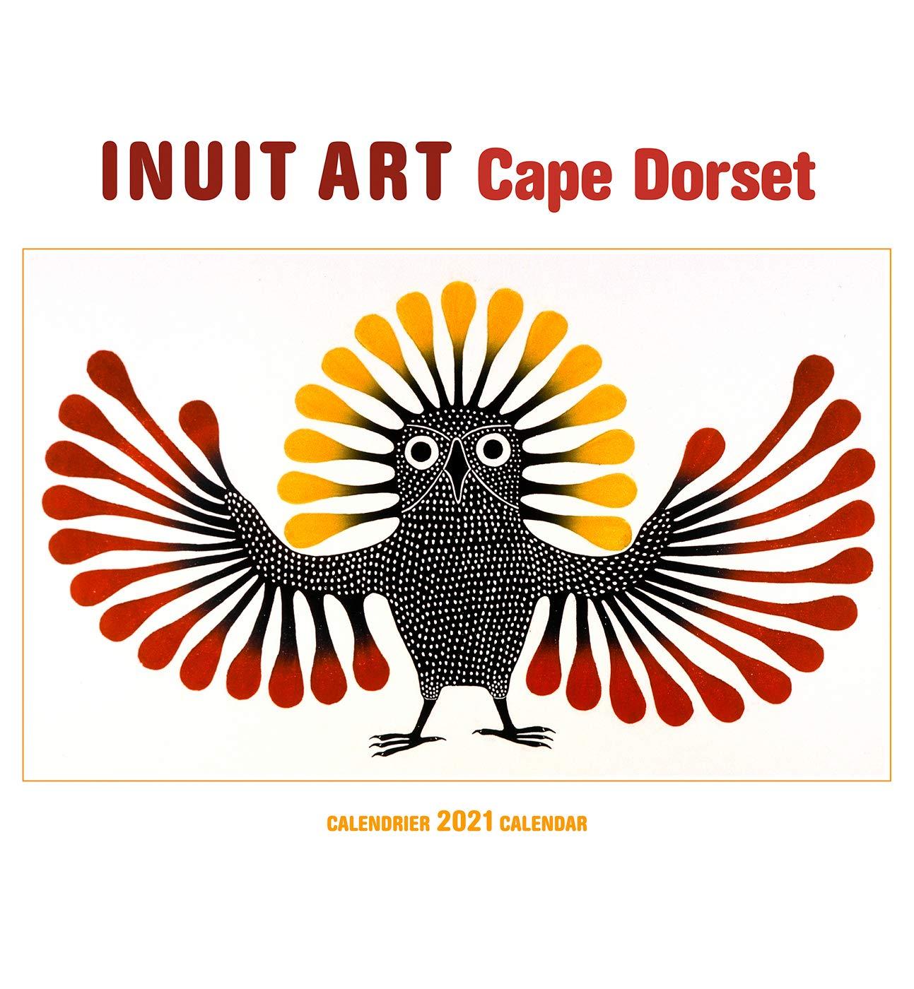 Buy Inuit Art Cape Dorset Calendrier 2021 Calendar Book Online at
