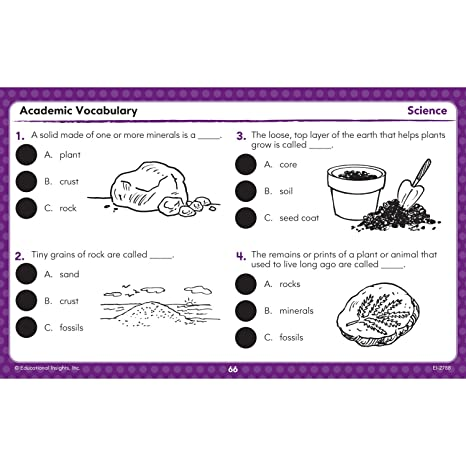 Amazon.com: Educational Insights Hot Dots Academic Vocabulary Card ...