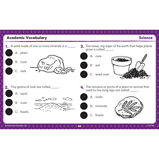 Math Worksheets common core 4th grade math worksheets : Amazon.com: Educational Insights Hot Dots Academic Vocabulary Card ...