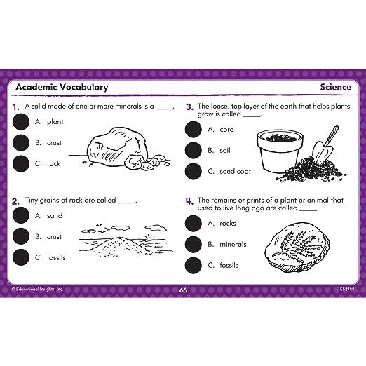 Math Worksheets common core 4th grade math worksheets : Amazon.com: Educational Insights Hot Dots Academic Vocabulary Card ...