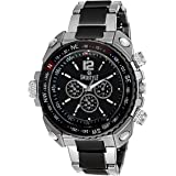 Swisstyle Analogue Black Dial Men's Watch - ss-gr607-blk-ch
