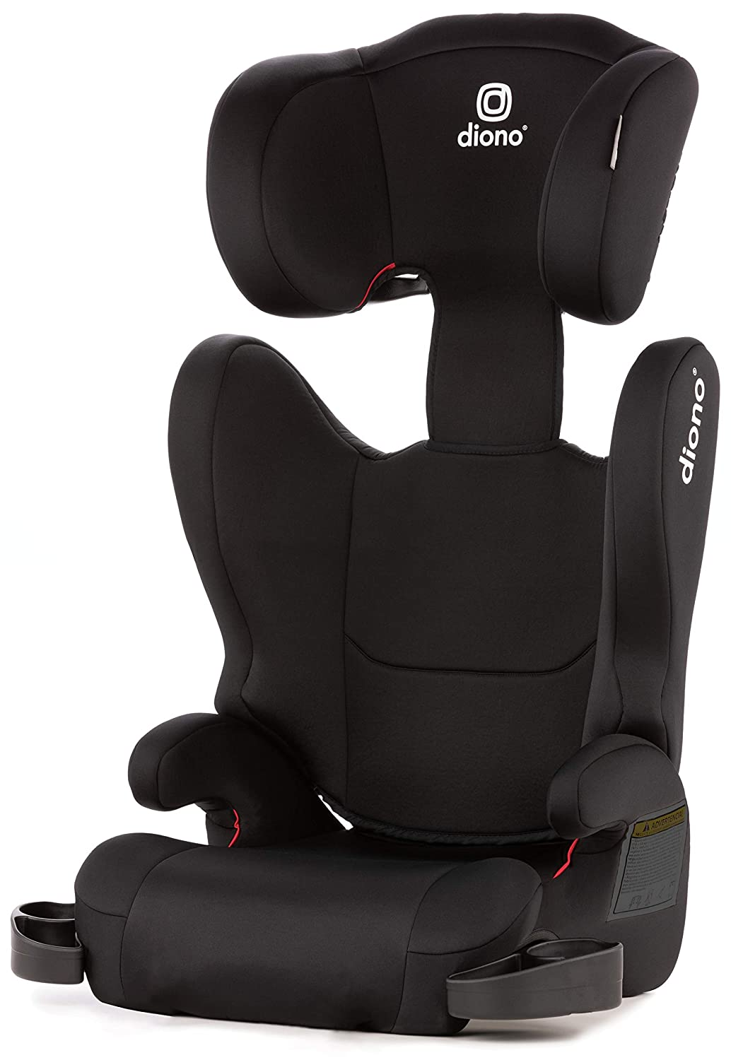 Diono Cambria 2 High-Back Childrens Booster Seat 18-54 kg Black 6 Position Head-Support Group 2//3