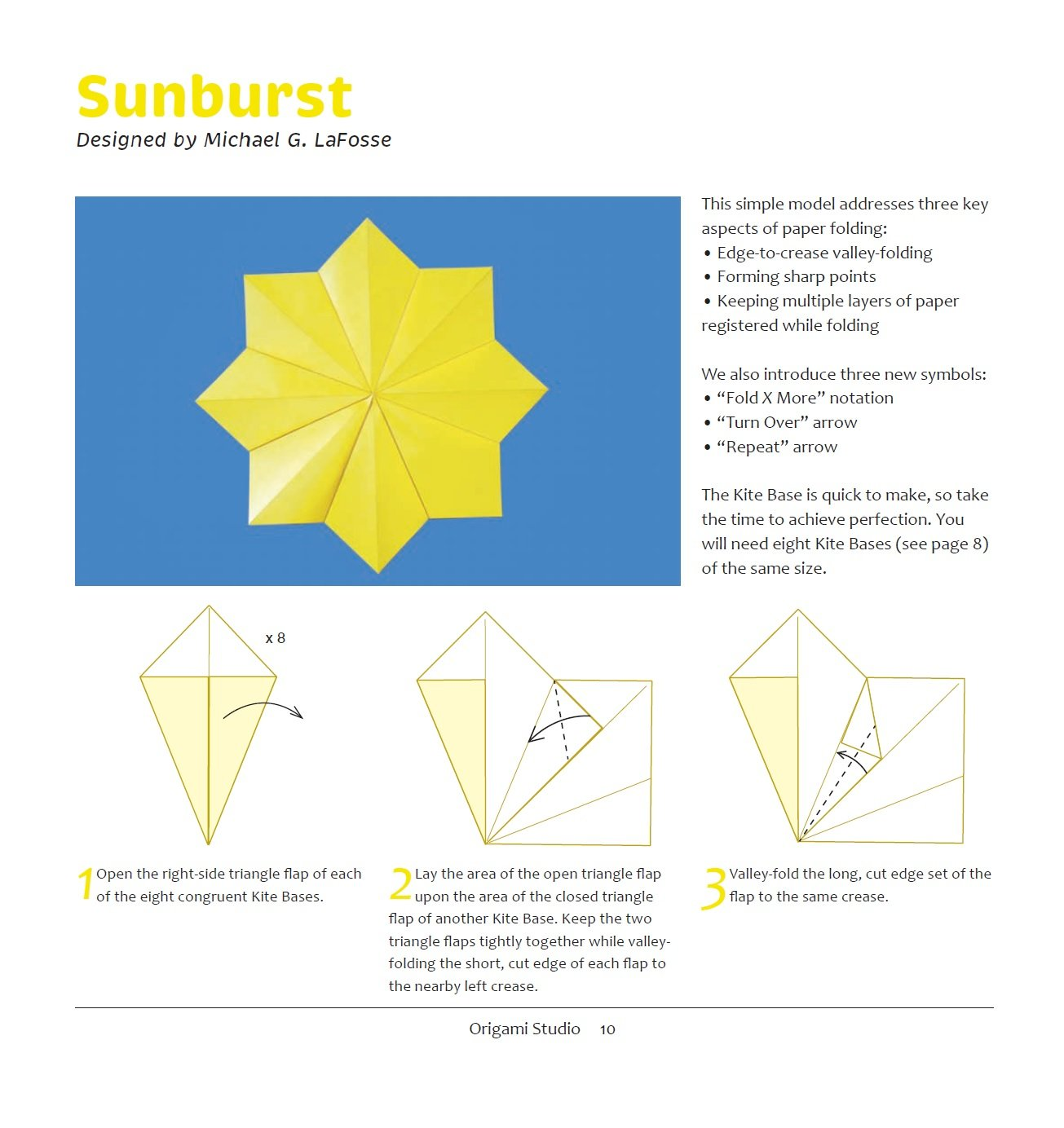 Origami Studio Kit Learn The Essentials From An Master Kite Diagrams Youtube Michael Lafosse 9784805311523 Books