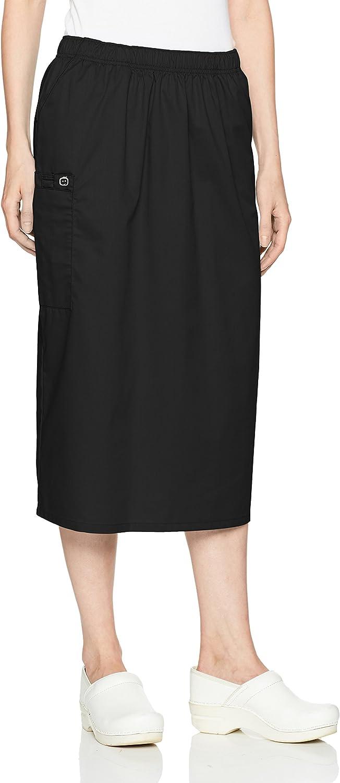 WonderWink Women's Wonderwork Pull-on Cargo Scrub Skirt