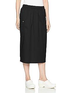 00e9eaf62f Amazon.com: Adar Universal Mid-Calf Length Drawstring Skirt ...