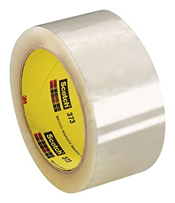 """48 Rolls Clear Carton Sealing Packing Tape Box Shipping 3/"""" 2.5Mil 110yd"""