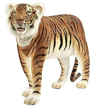 Hansa – Peluche Tigre marrón Jacquard 140 CML *