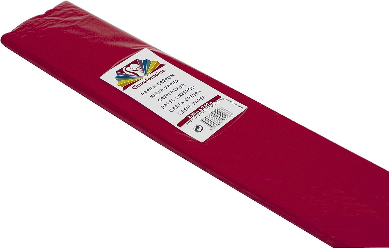 Clairefontaine 95106C Carta Crespa Rosso