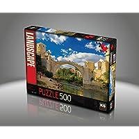Ks Games- Old Mostar Bridge Bosna-Hersek Sally Curtis 500 Parça Puzzle