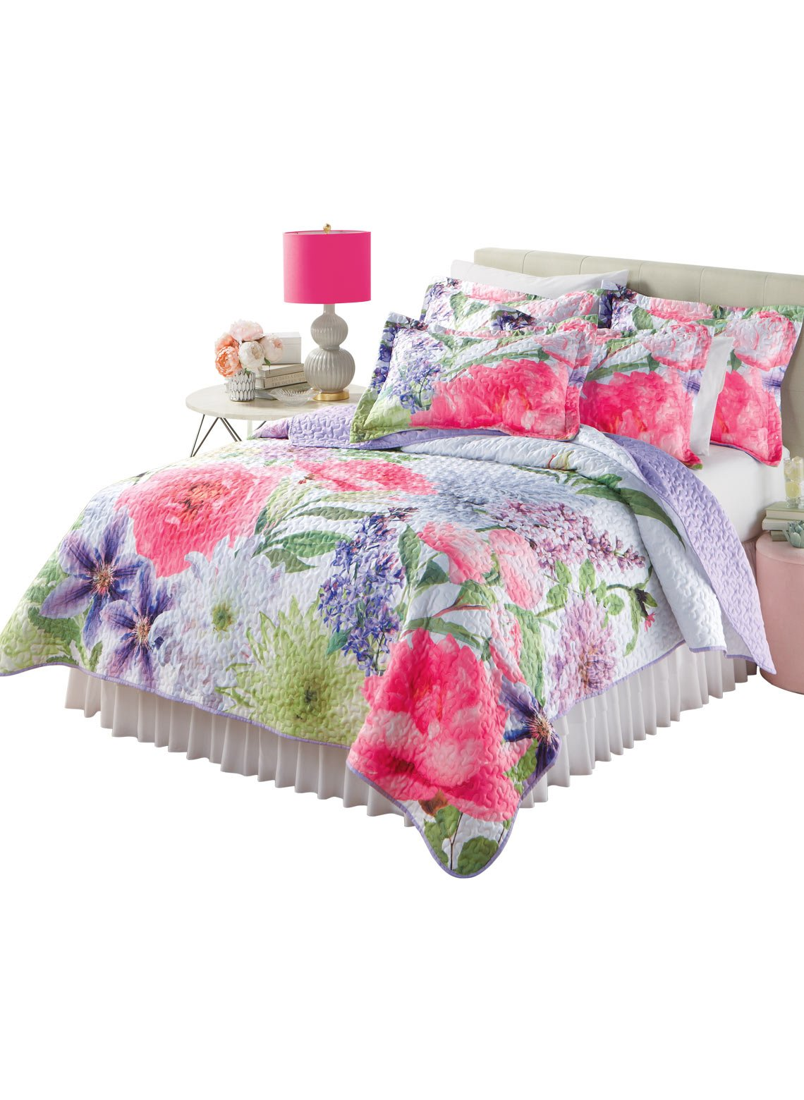 Carol Wright Gifts Gardenscape Quilt - King