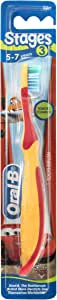 Oral-B Stages 3 Disney Princess 5-7 Years Toothbrush Soft (Colours may vary)