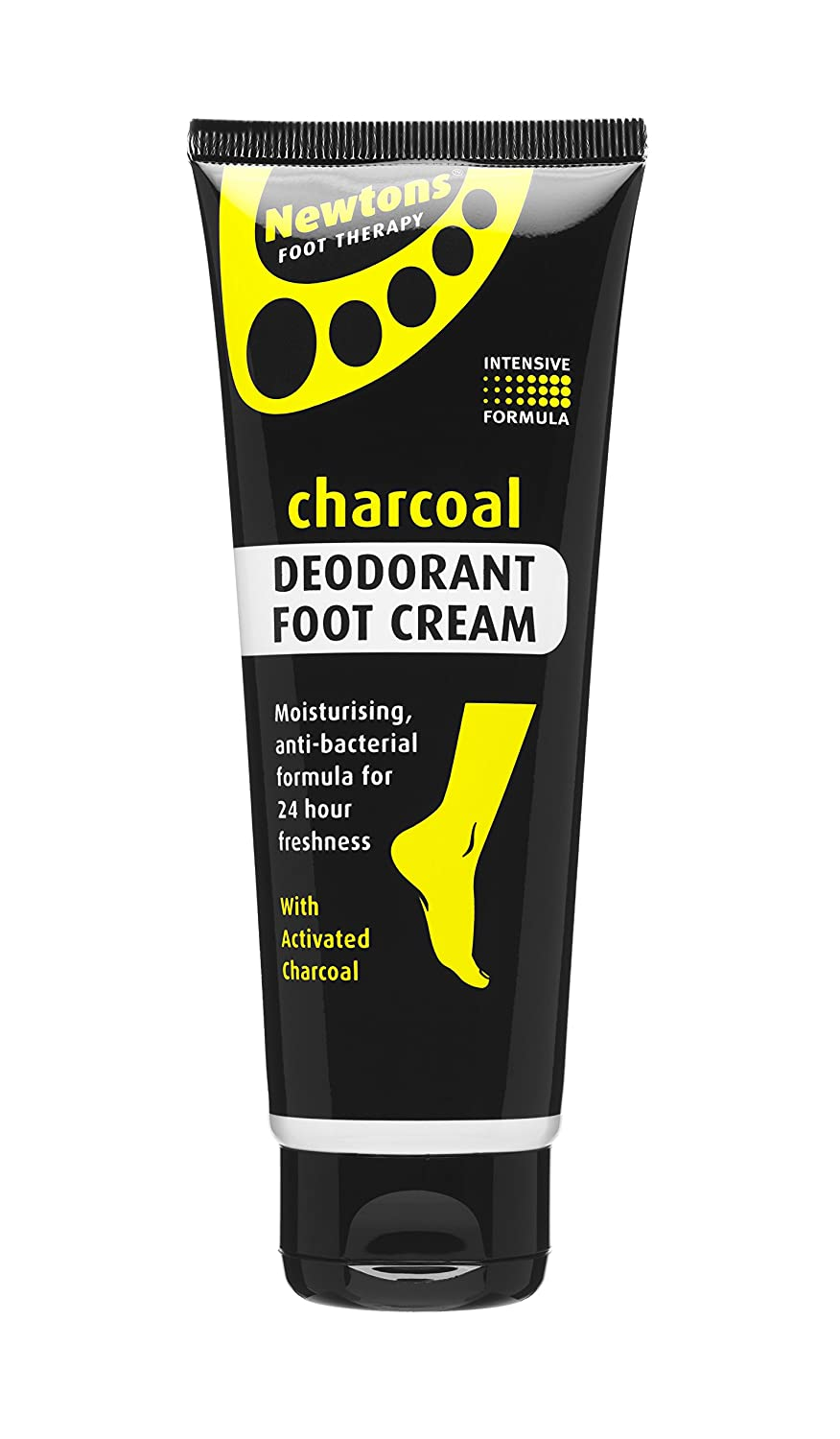 Newtons Foot Therapy Charcoal Deodorant Foot Cream, 100 ml 07021NEW