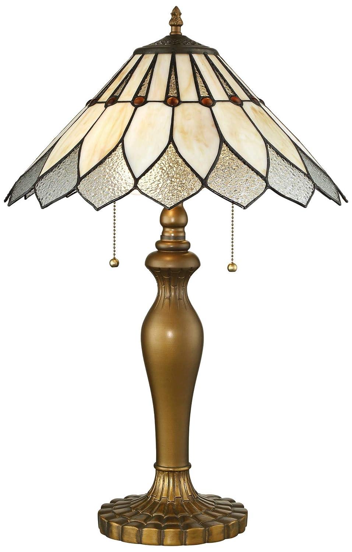 Lite Source Lavena Brass Tiffany Art Nouveau Table Lamp Amazon Com