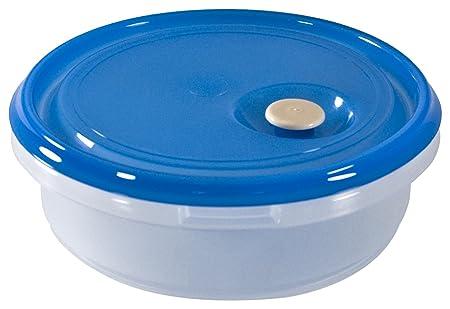 Carrefour 04184 Alrededor Caja 1.75L Azul, Transparente 1pieza(s ...