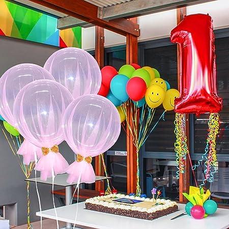 CatcherMy Bobo Bubble Ball Mesh Bow Balloon Wedding Party ...