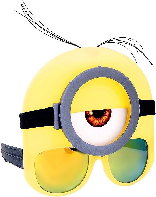 Disfraz de Minion gafas gafas sunstaches: Amazon.es: Ropa y accesorios