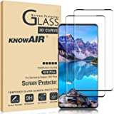 KNOWAIR Galaxy S20 Plus Screen Protector,Full Coverage Tempered Glass[2 Pack][3D Curved][Solution for Ultrasonic Fingerprint]