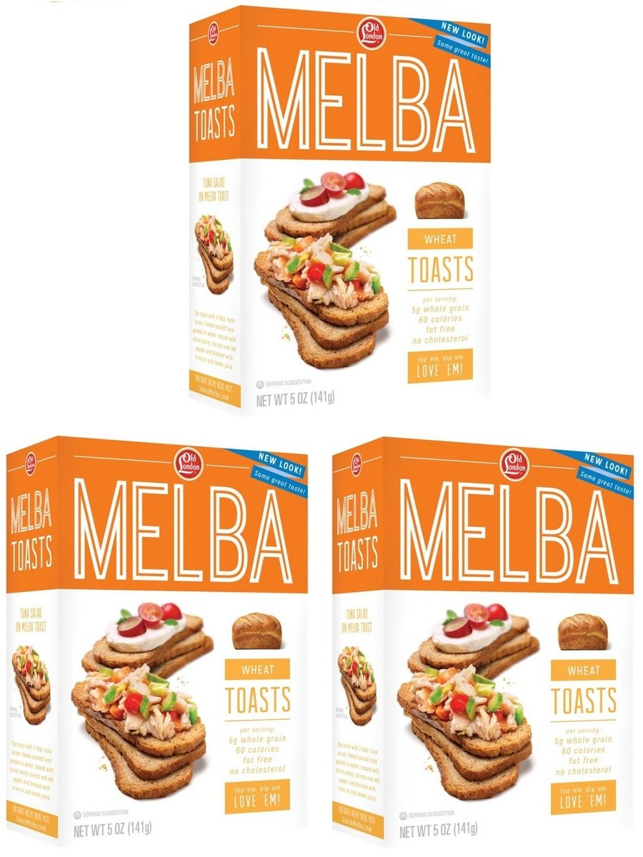 Old London Melba Toast Wheat by Old London