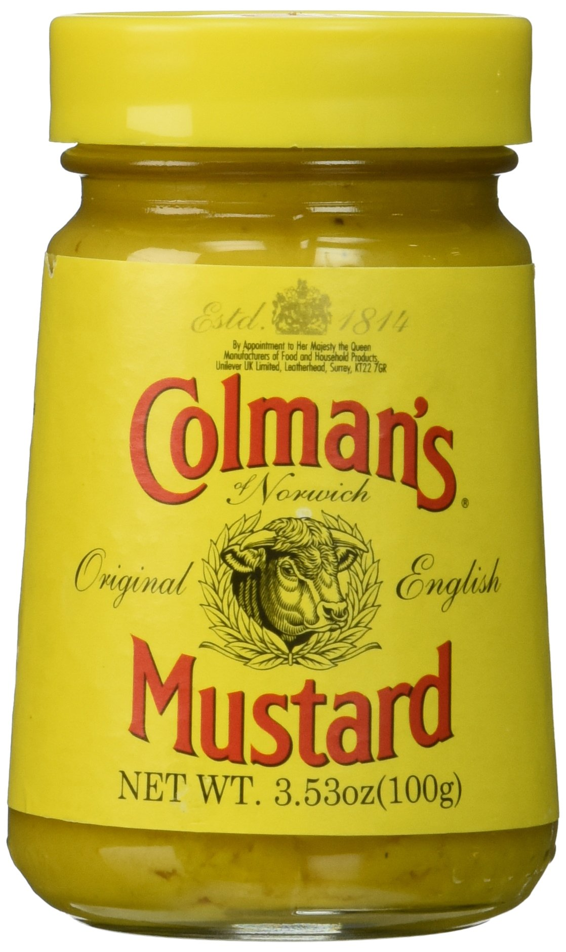 Colmans Original English Mustard, 3.53 Ounce (2 pack)