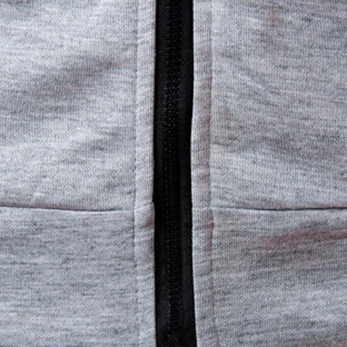 La Blusa Superior de la Manga Corta de la Camiseta del Color Puro con Capucha Ocasional del Verano de los Hombres de la Moda por Internet.: Amazon.es: Ropa ...