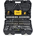 DeWalt Mechanics 168-Pieces Tool Kit Set and Socket Set