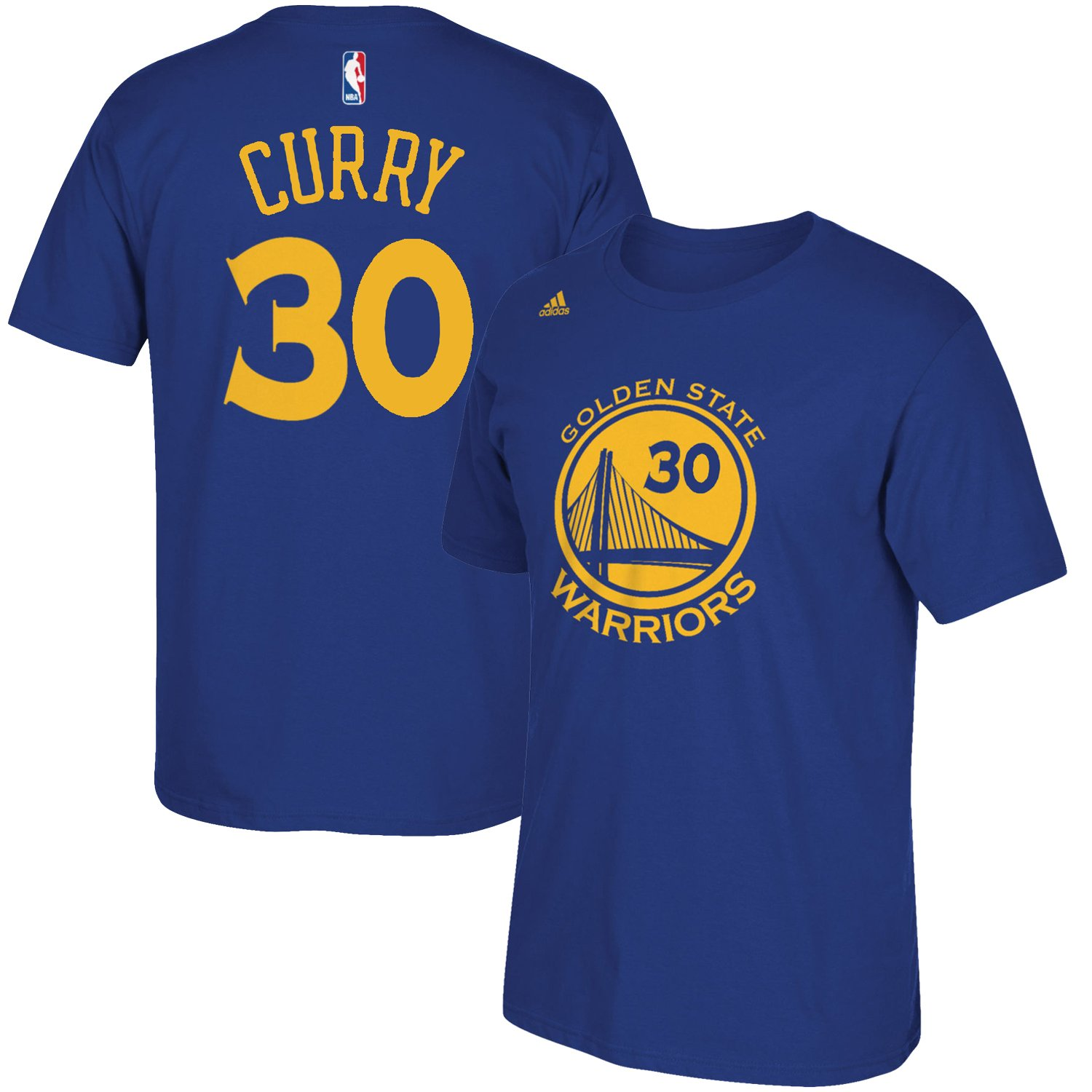 Outerstuff NBA Youth 8 20 Performance Game Time Team Color Player Name and Number Jersey T Shirt Stephen Curry