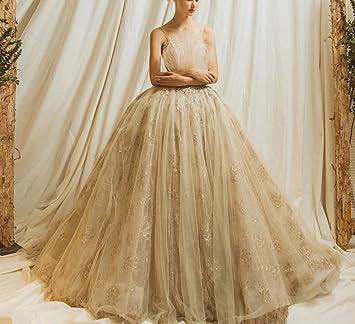 WLG Vestido de Boda Superior del Tubo 2018 Princesa de la Boda de la Novia Corte
