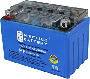 Mighty Max Battery YTX9-BS Gel 12V 8AH Battery for Honda ATV TRX300EX TRX400EX 300EX/400 Brand Product