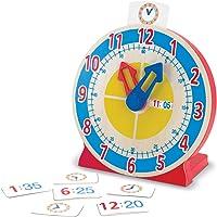 Melissa & Doug Reloj para girar y ver la hora