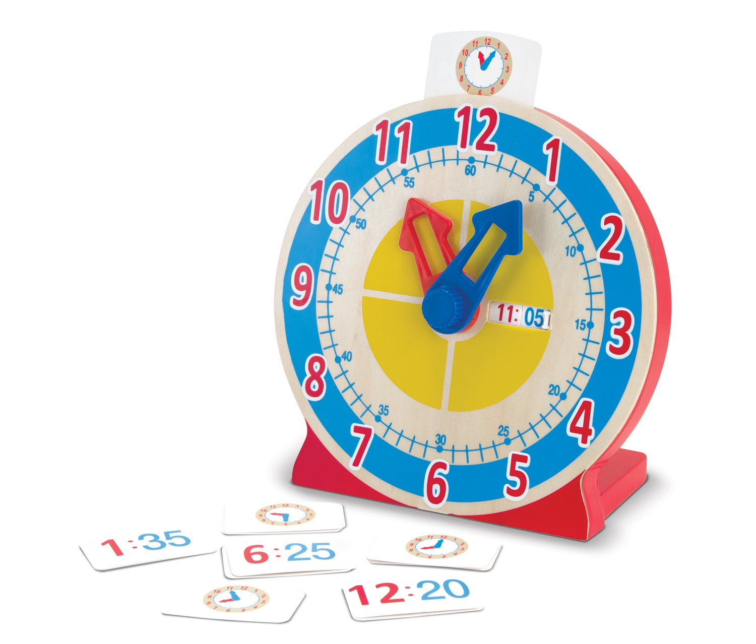 classroom turn and tell clock