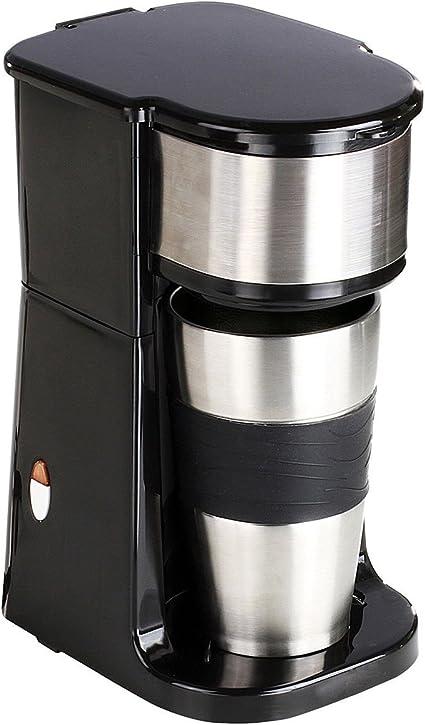 Mini Cafetera Electrica de Viaje por Goteo Campo Camping Filtro Permaente 750W 0,42L 6046: Amazon.es: Hogar