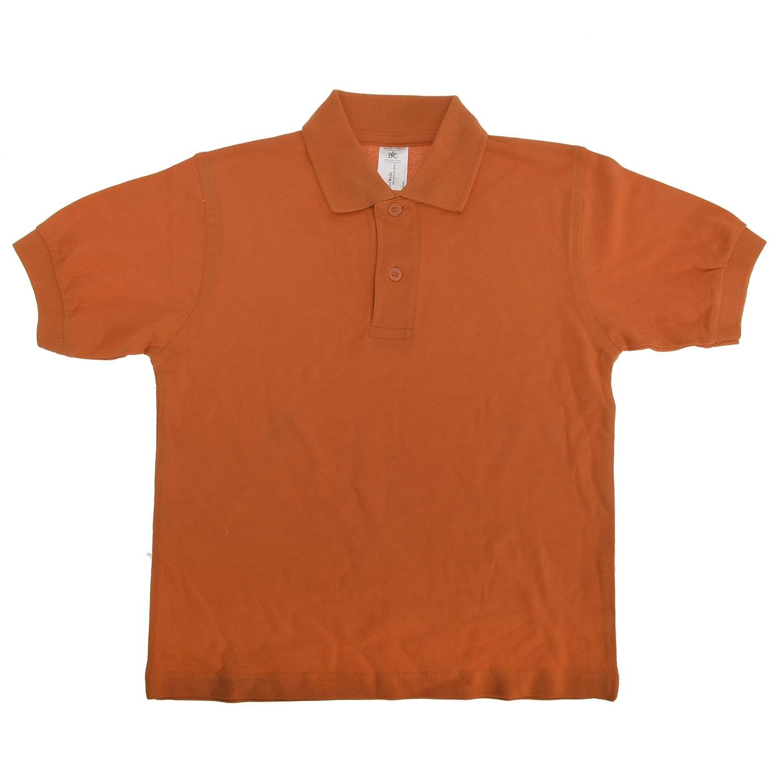 B/&C Big Girls Kids//Childrens Safran Polo Shirt