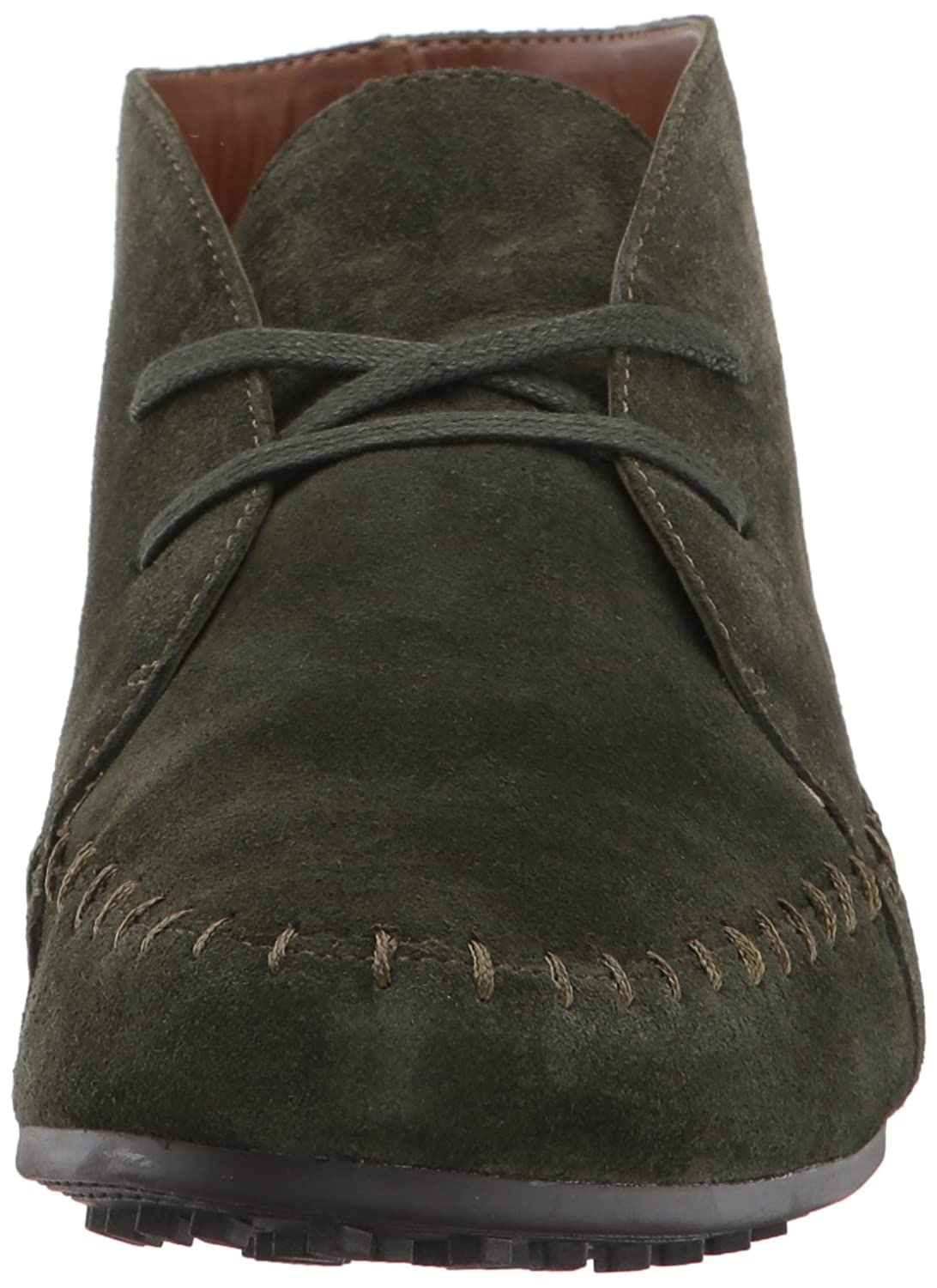 Aerosoles Women's Driving Range Ankle Boot Green B005BJAOI8 8 B(M) US|Dark Green Boot Suede 167173