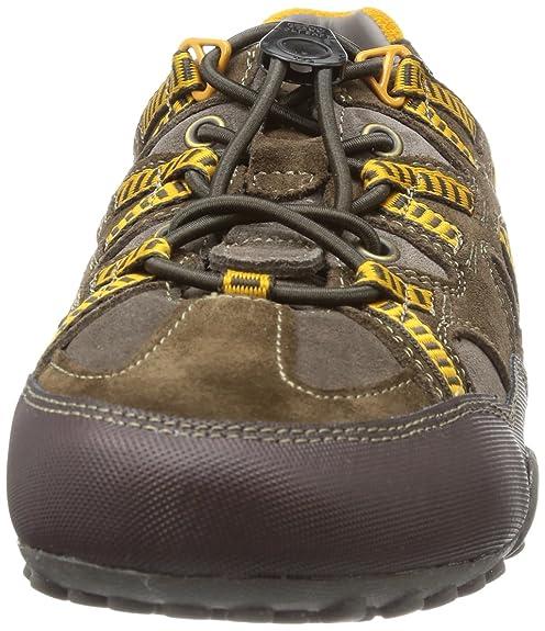 Geox Respira Sport Snake K Herren Sneakers Halbschuhe U4207K Grey