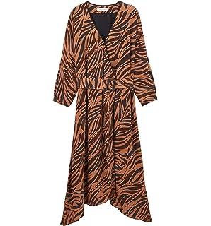 2f1c5693abe62e Promod Robe Longue à Bretelles: Amazon.fr: Vêtements et accessoires