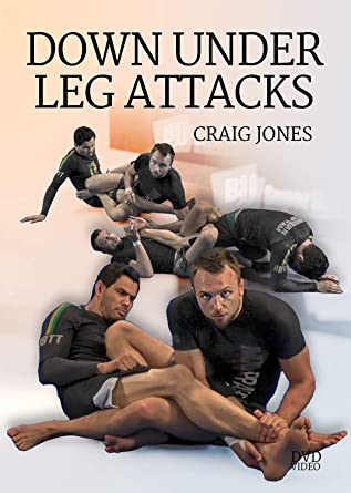 Amazon com: Down Under Leg Attack by Craig Jones: BJJ