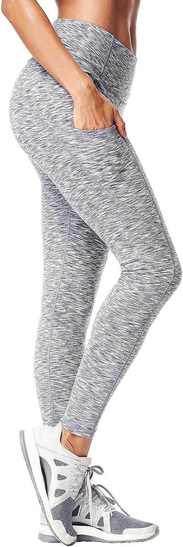 Matymats Womens Yoga Pants Non See-Through Workout Gym Stretchy Leggings
