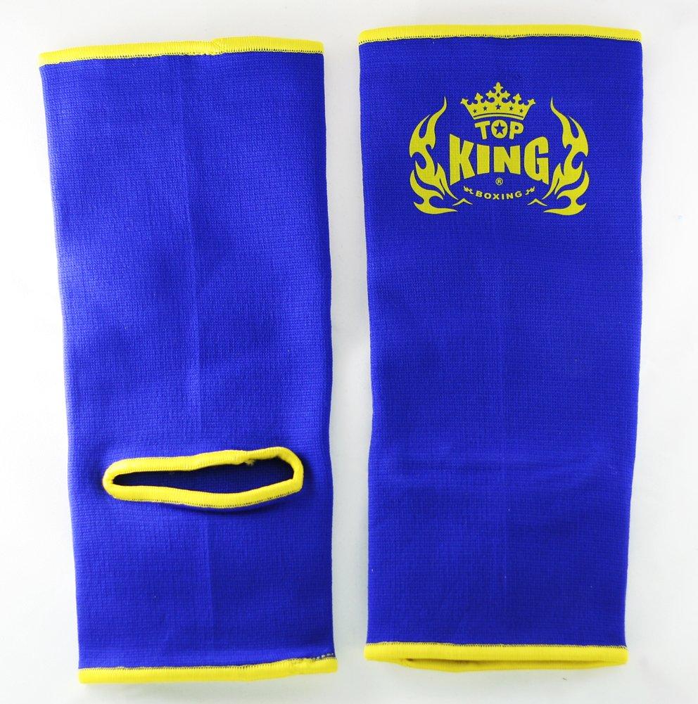 Top King boxeo Muay Thai profesional tobillo soporta tkang-01, Blue (Blau)