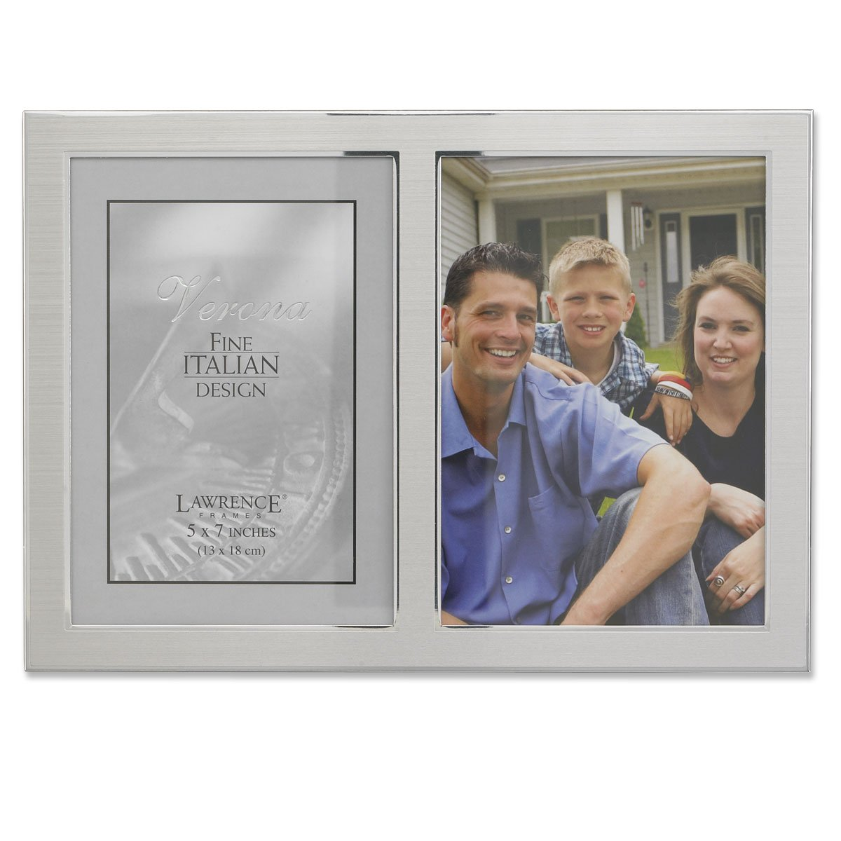 Amazon.com - Lawrence Frames 2-Tone Double Opening Panel Picture ...