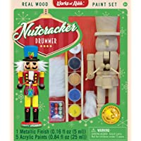 MasterPieces Holiday Wood Paint Kit - Nutcracker Drummer