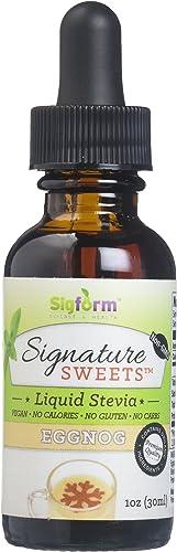 SIGFORM Eggnog Stevia Digestive Enzyme Formula, 0.02 Pound