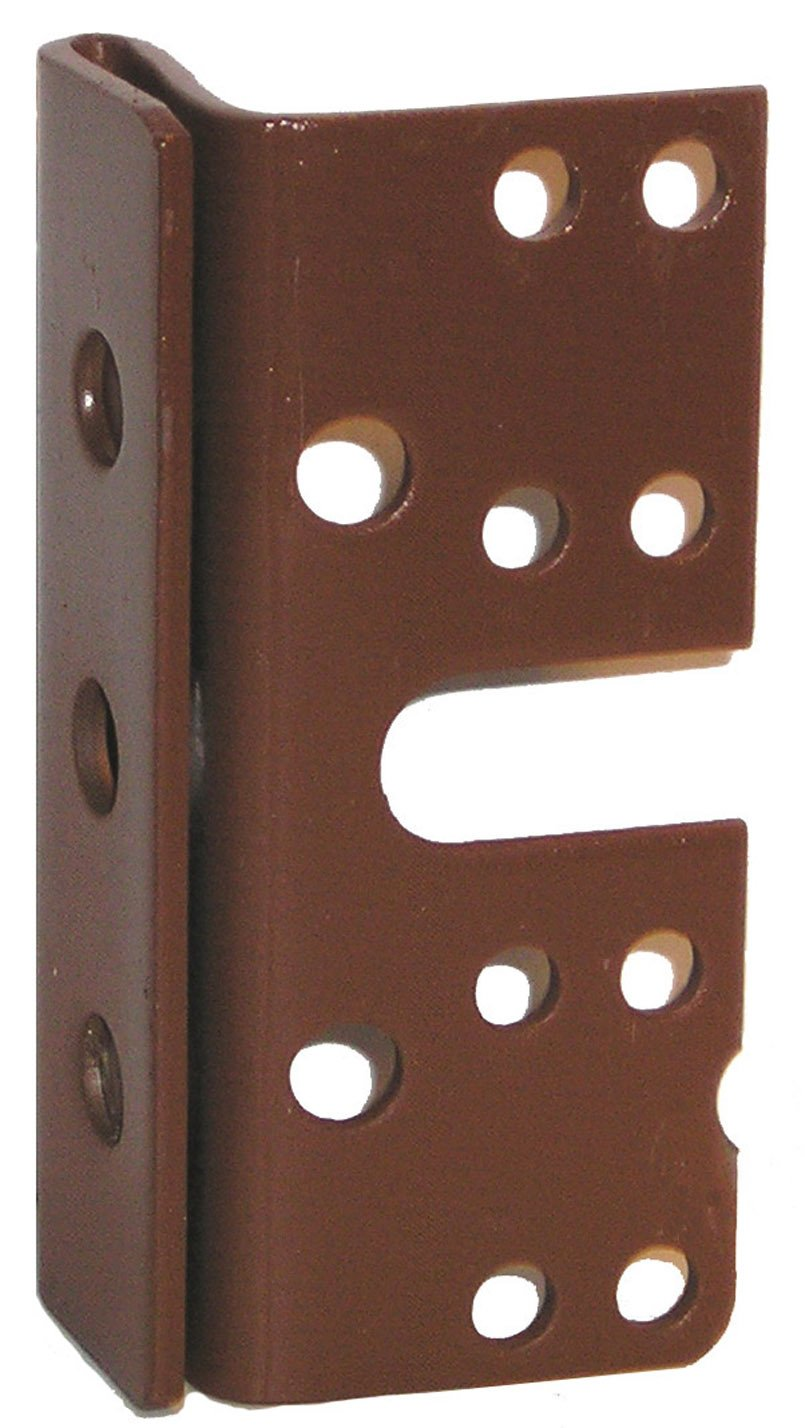 Amazoncom Bed Post Bracket For 2 Double Hook Slot Bed Plate and