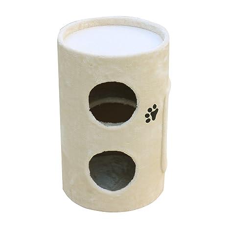 Woltu® # 664 Árbol del Gatos con caseta columnas tiragraffi juguete Parque Juegos para gato