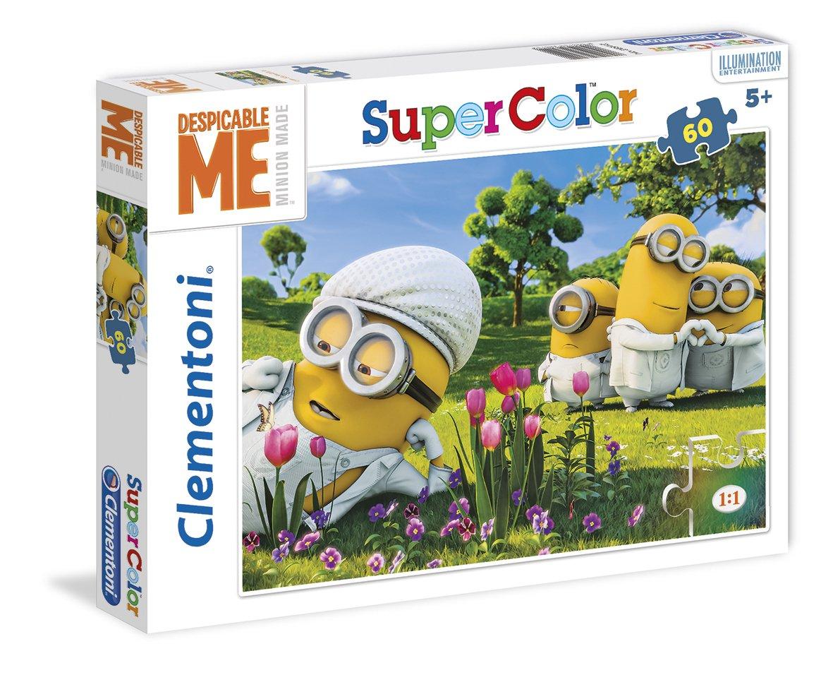 60 Pi/èces 26886.3 Puzzle Super Color Cars Clementoni